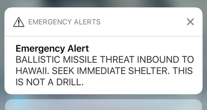 The Hawaii false alert wasn't user error—it was a failure of design