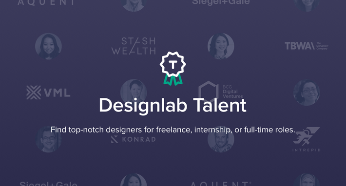 Announcing Designlab Talent