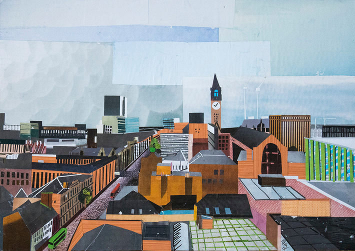 Everyday Creativity: Alban Thiery's Collages of Manchester
