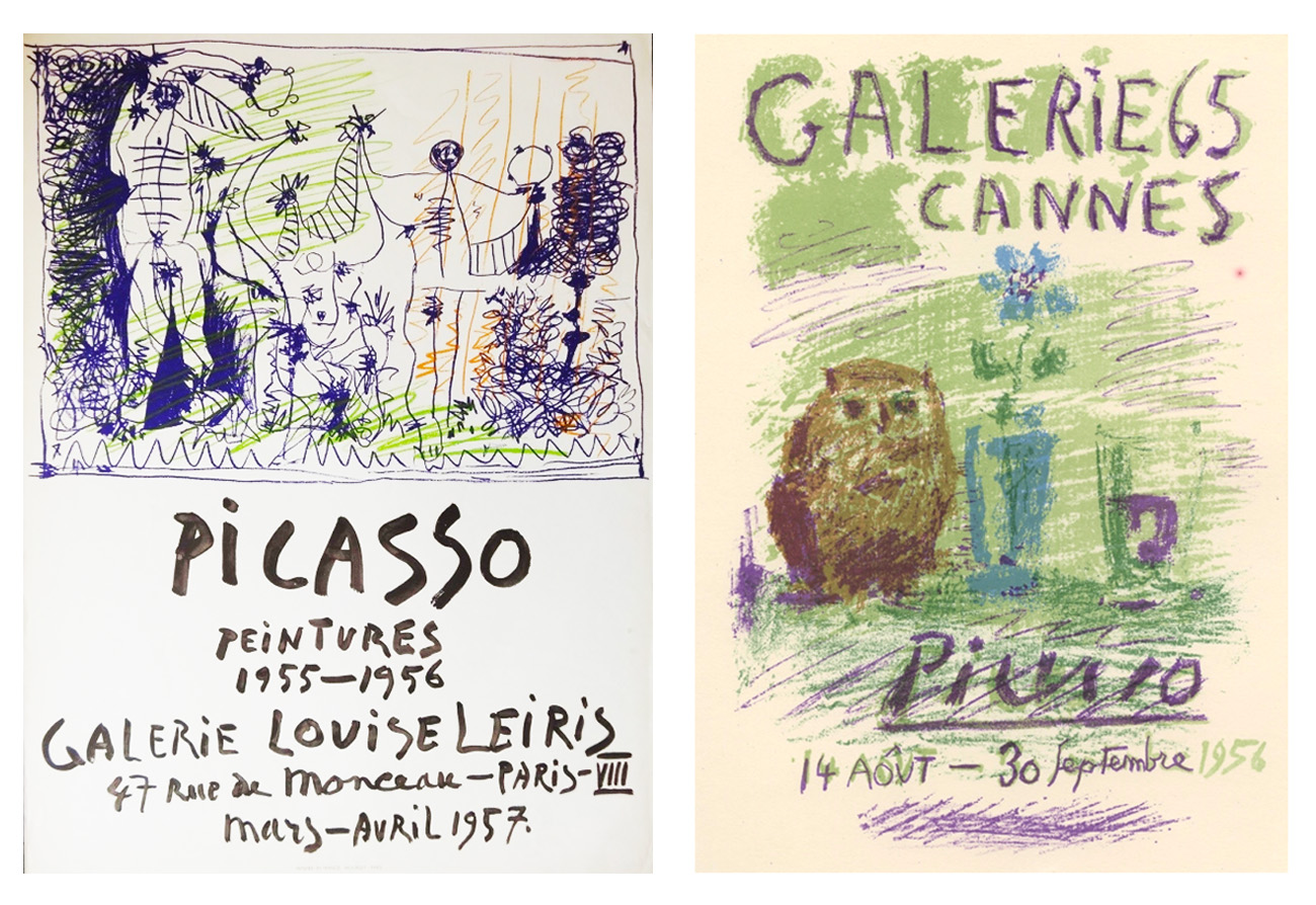Picasso Exhibition Posters