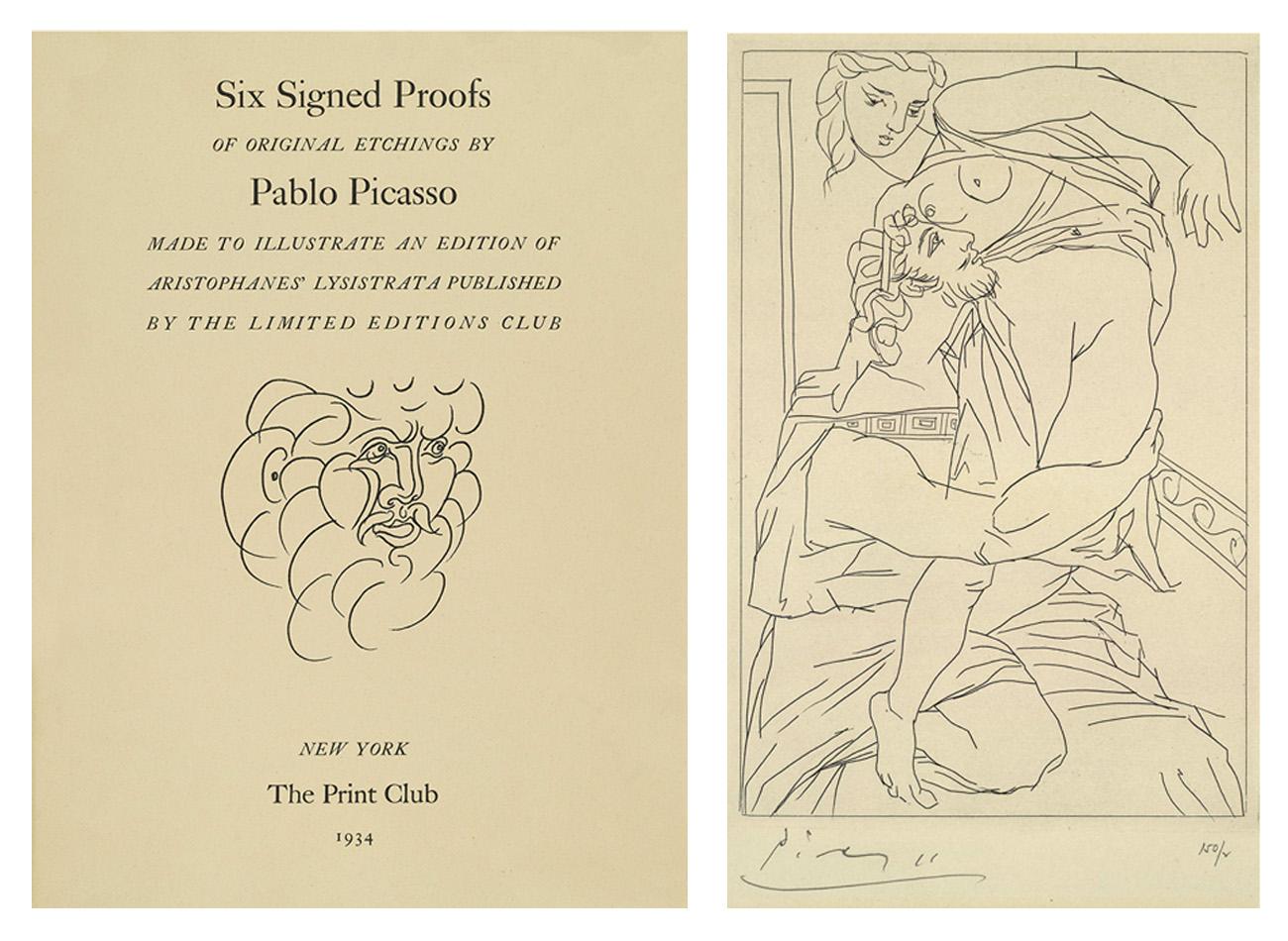 Picasso Lysistrata