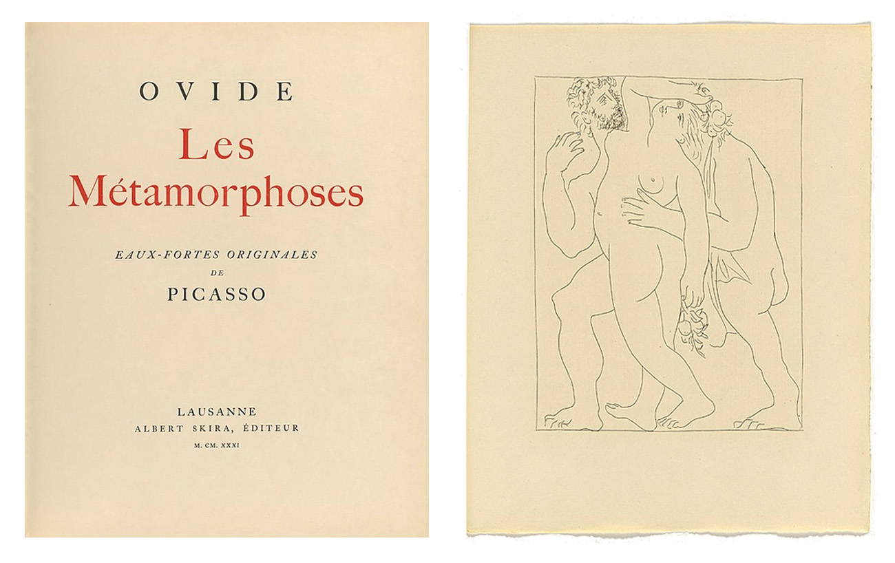 Picasso Ovid Metamorphoses