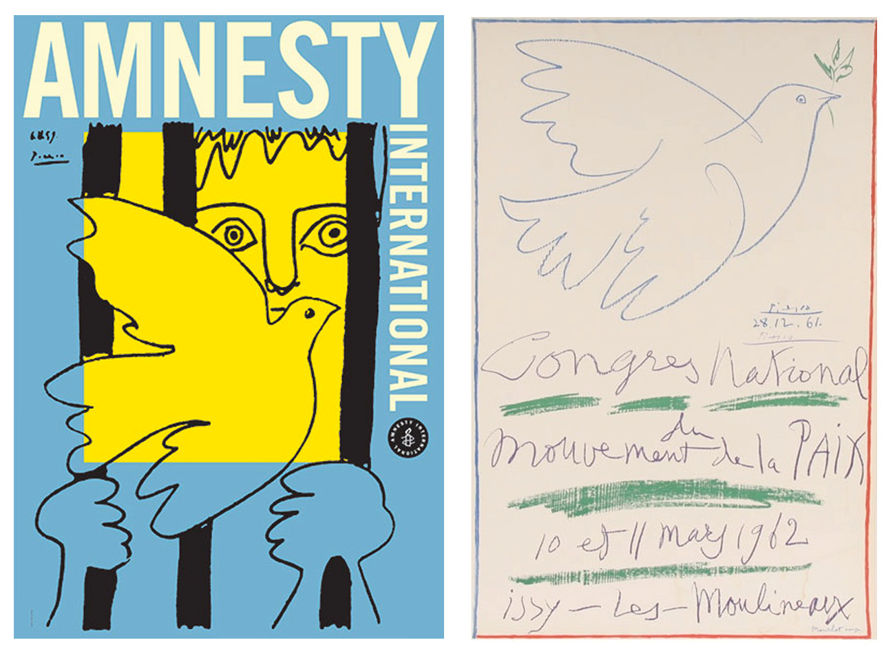 Picasso Peace Posters