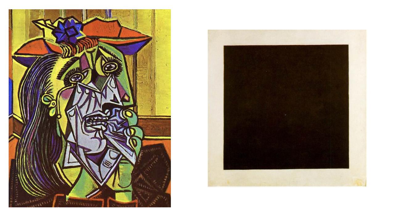 Picasso vs Malevich