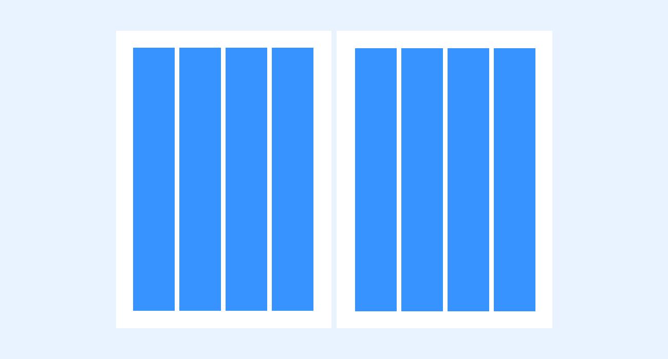 Column grid - print