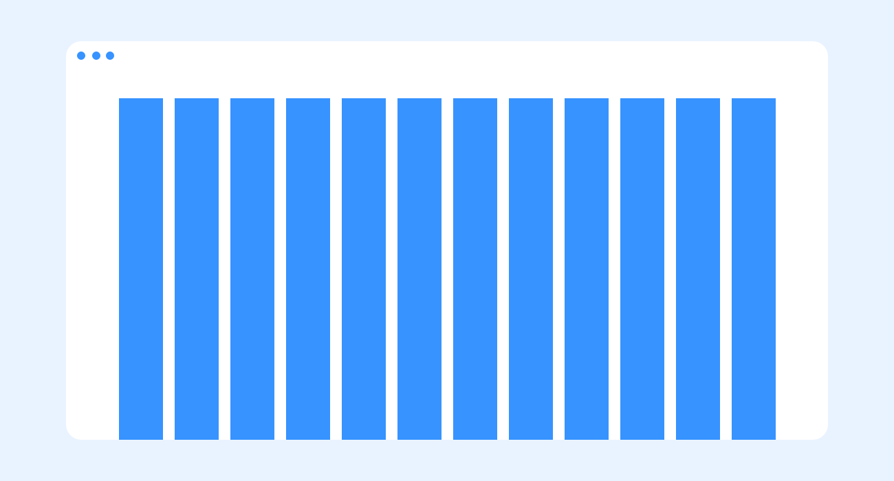 Column grid - web