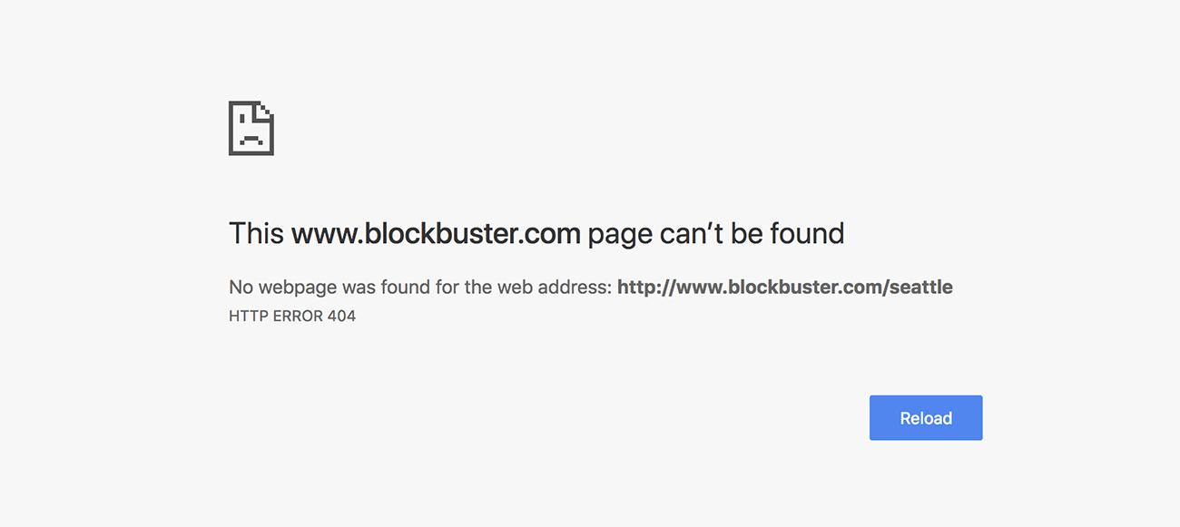 Blockbuster 404