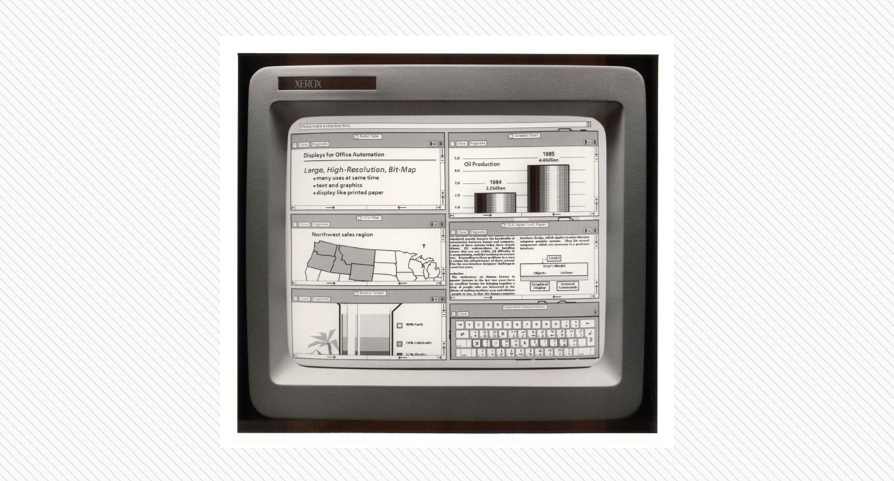 Xerox Star, 1981