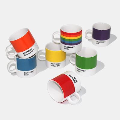 18 Pantone Espresso Cups