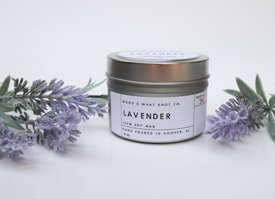 50 Lavender Candle