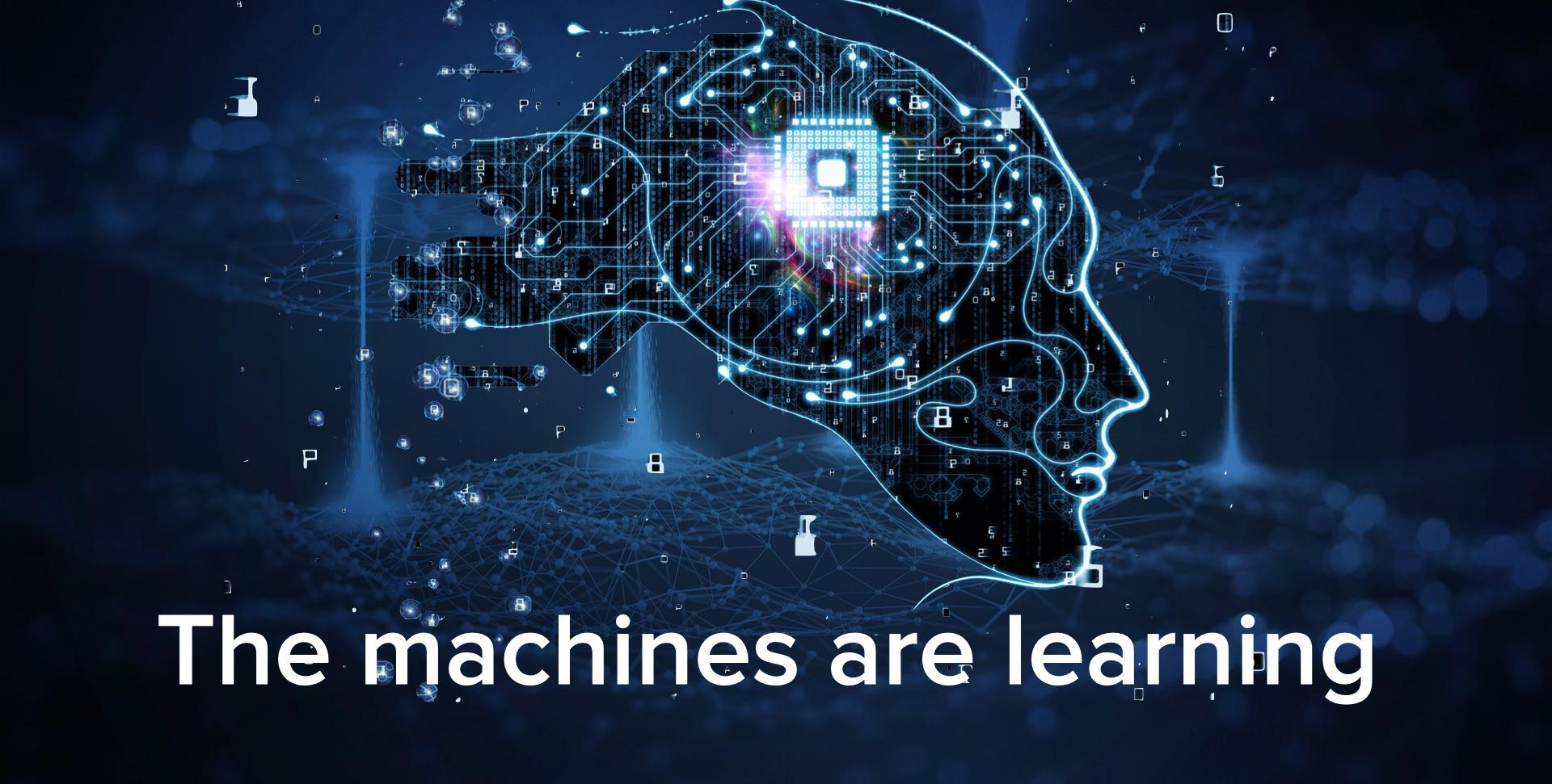 Illustration of machine learning