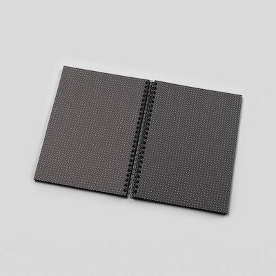 21 Dot Grid Notebook