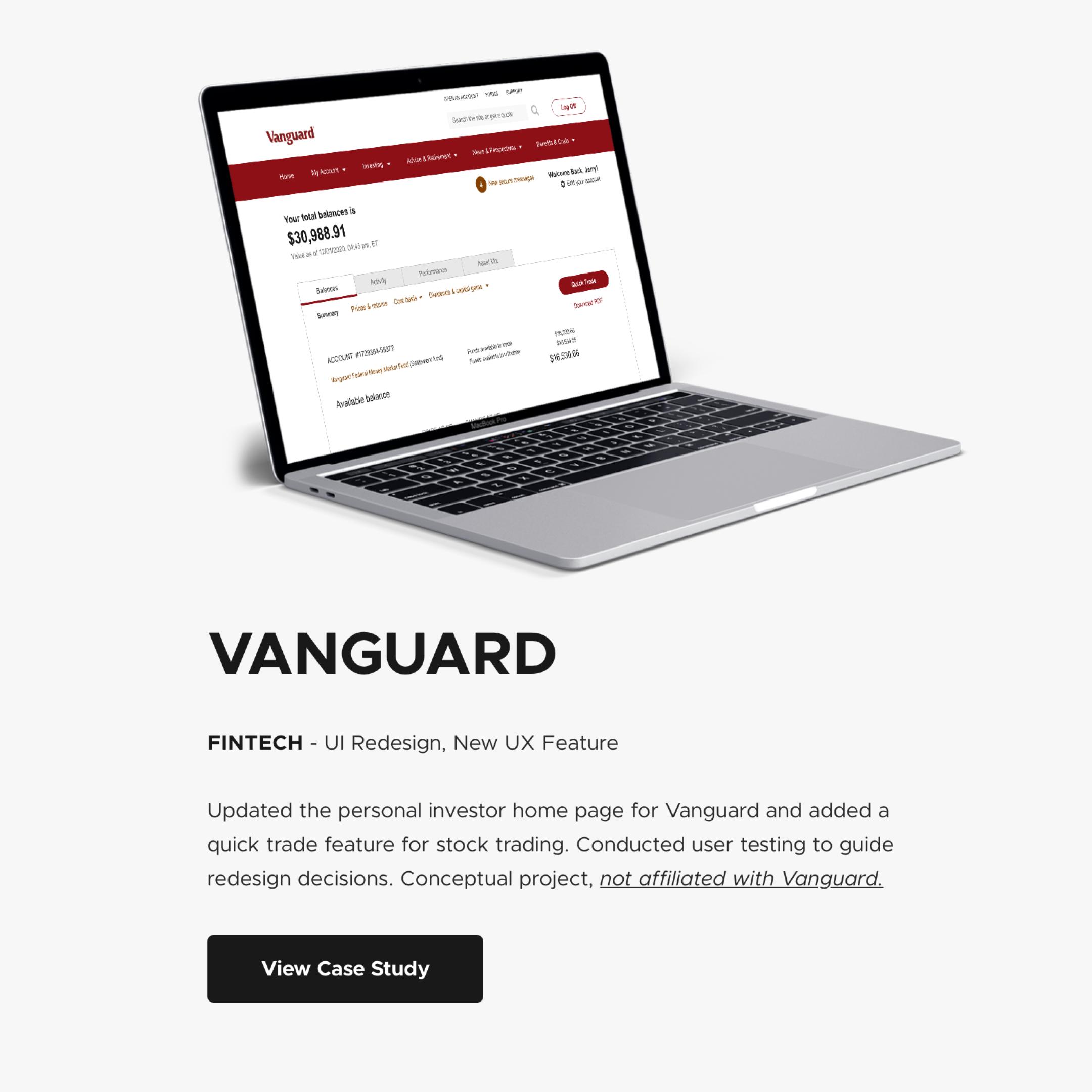 Vanguard Project1