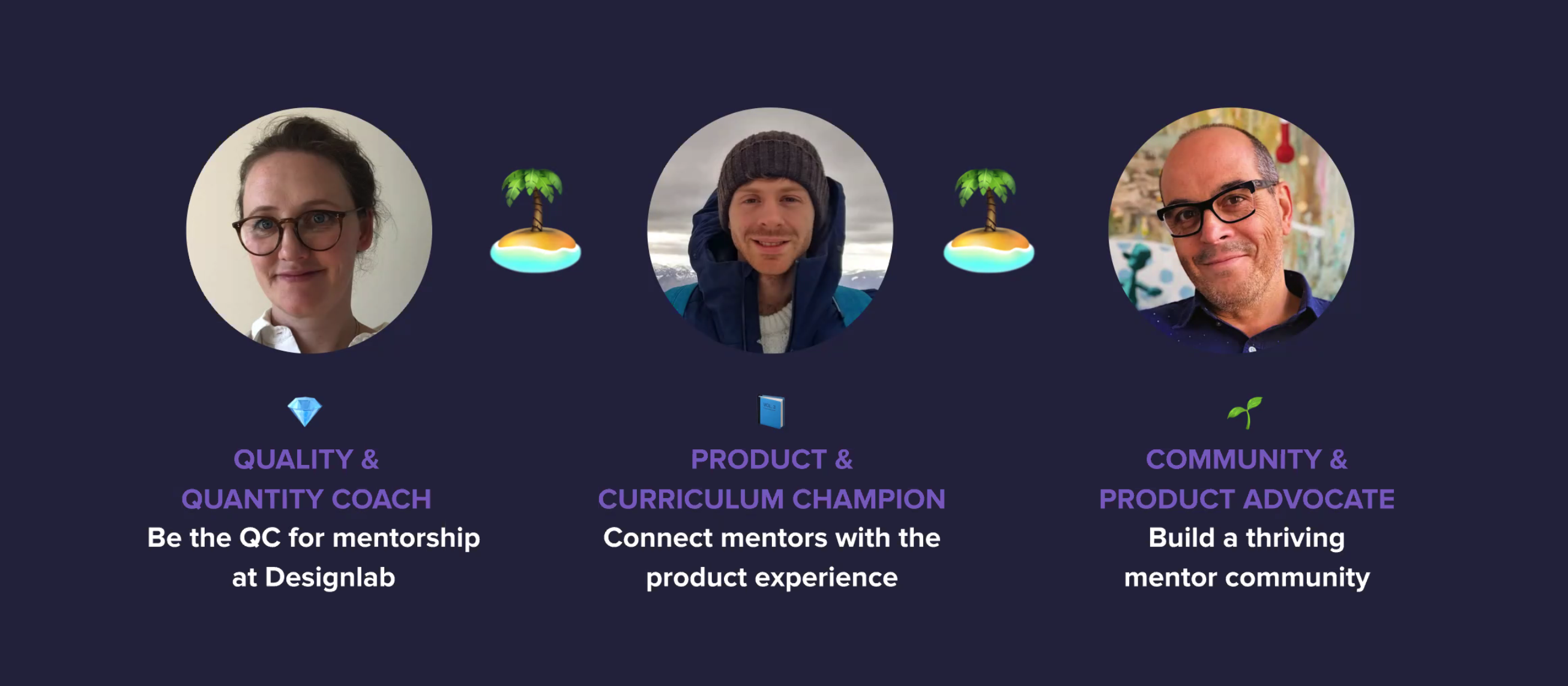 Meet the Mentor Lead Team