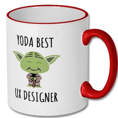20 Yoda Best UX Designer Mug