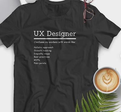 54 UX Designer T Shirt