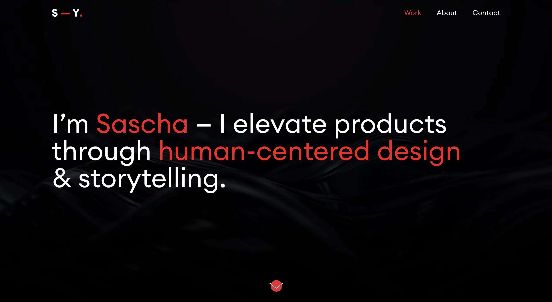 Sascha Yeryomin Semplice Portfolio