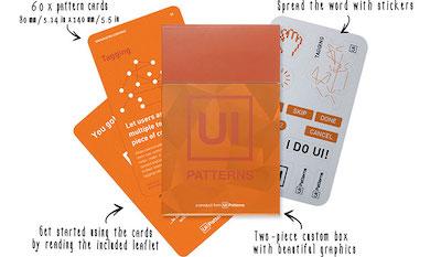 8 UI Patterns Card Set
