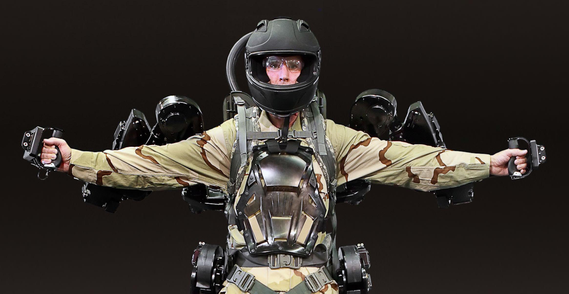 Human augmentation military exoskeleton