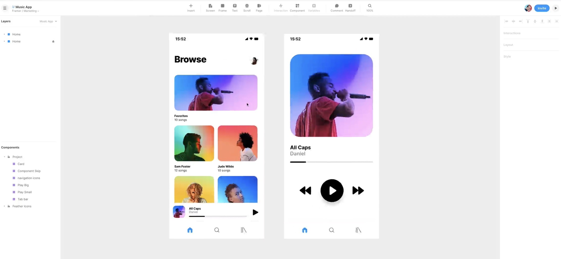 Framer Collaboration Tools