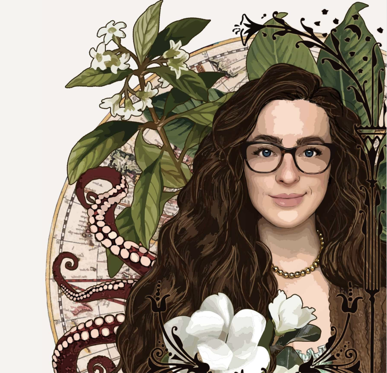 Monica Kay Self Portrait