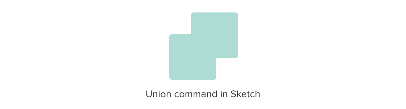 Union command in Sketch