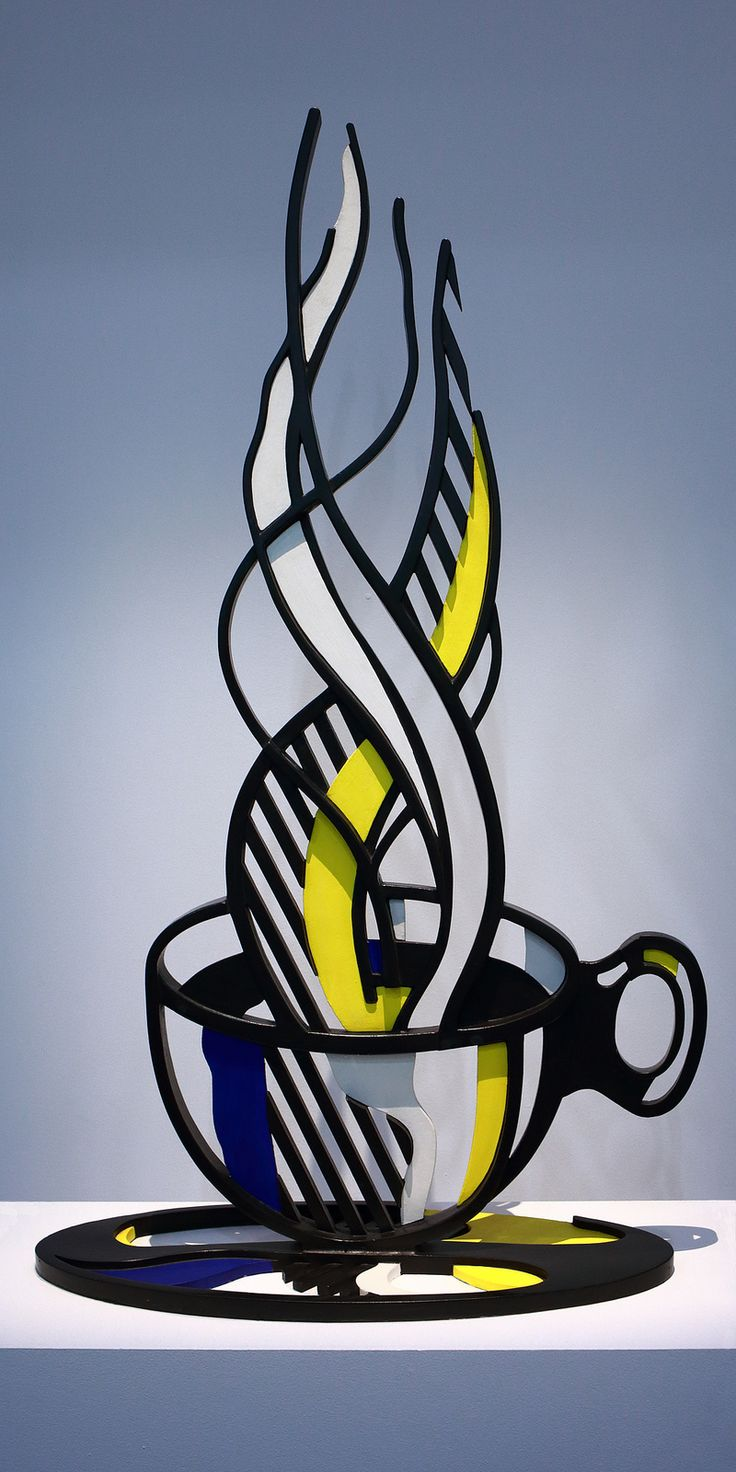 Roy Lichtenstein, Cup and Saucer II, 1977
